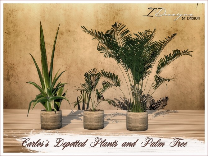 3T4 Carloss Depotted plants and Palm Tree at Daer0n – Sims 4 Designs image 821 670x502 Sims 4 Updates