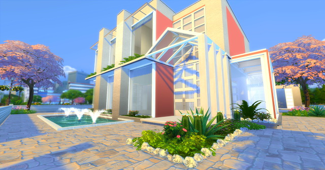 Modern house 4 Irmãs Imortais at Mony Sims image 8212 Sims 4 Updates