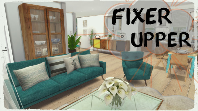 Fixer Upper Streamlet Single at Dinha Gamer image 822 Sims 4 Updates