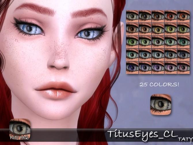 Sims 4 Titus eyes CL at Taty – Eámanë Palantír