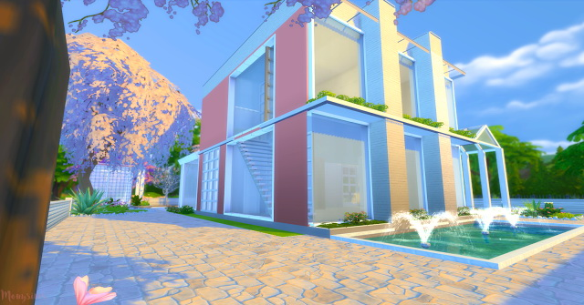 Modern house 4 Irmãs Imortais at Mony Sims image 8310 Sims 4 Updates