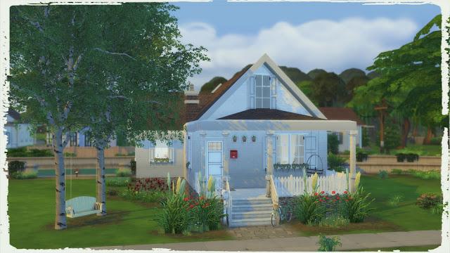 Sims 4 Fixer Upper Streamlet Single at Dinha Gamer