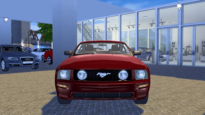 Sims 4 Ford Mustang GT 2005 at OceanRAZR