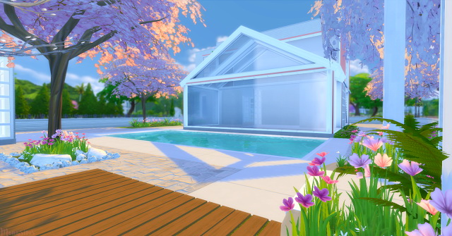 Modern house 4 Irmãs Imortais at Mony Sims image 8411 Sims 4 Updates