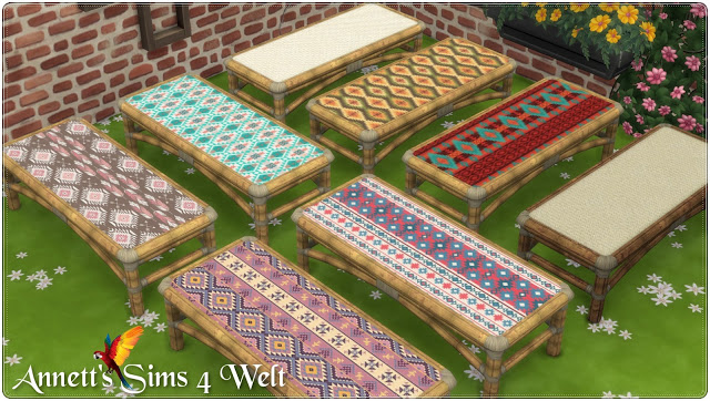 Sims 4 Living Set Tiki TS3 to TS4 Conversion at Annett's Sims 4 Welt