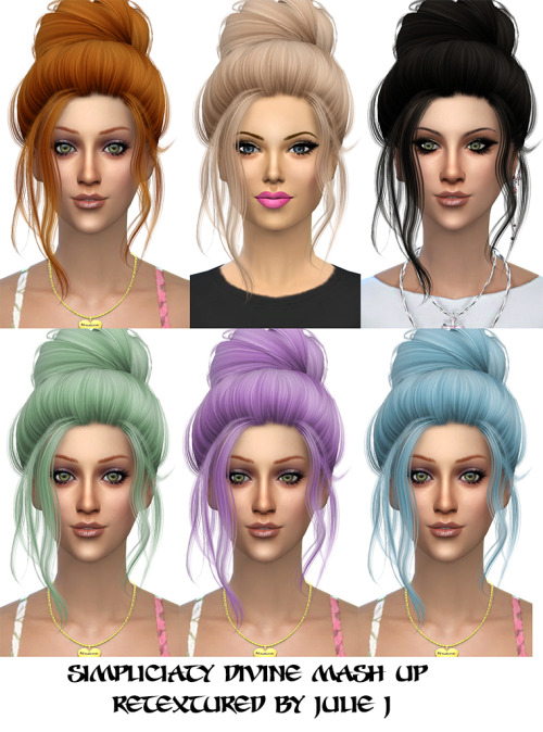 Simpliciaty Divine Mash Up Retextured at Julietoon – Julie J image 8518 Sims 4 Updates