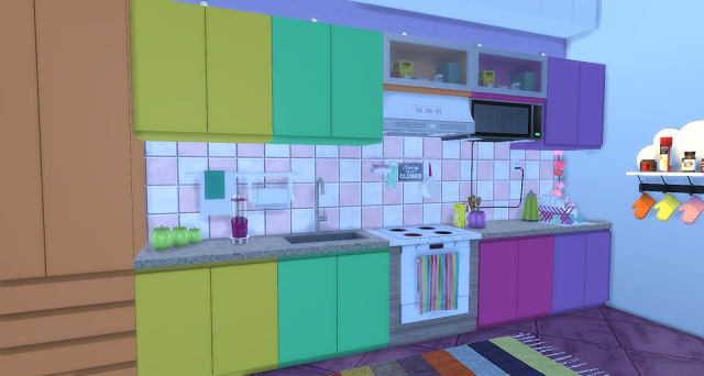 Unicorn rooms by Rissy Rawr at Pandasht Productions image 856 Sims 4 Updates