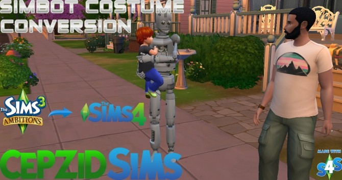 Simbot Costume Conversion by cepzid at SimsWorkshop image 87 670x353 Sims 4 Updates