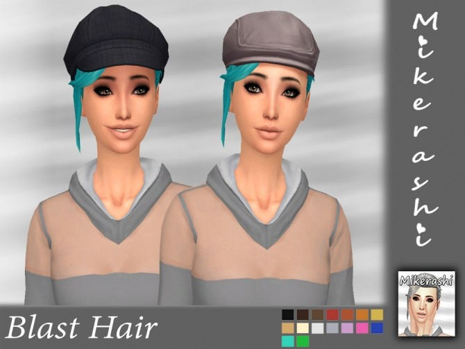Blast Hair at Mikerashi image 8711 670x503 Sims 4 Updates