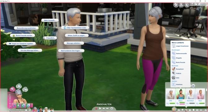 Sims 4 More Best Friends by LittleMsSam