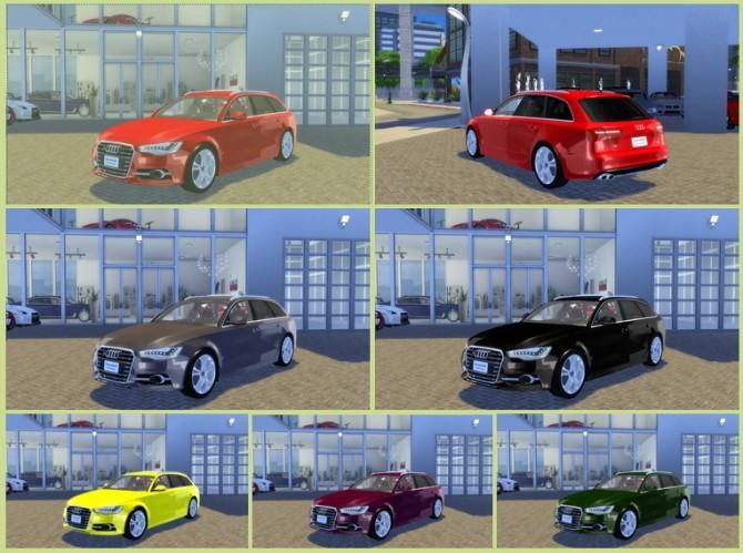 Audi S6 Avant 2012 at OceanRAZR image 884 670x499 Sims 4 Updates