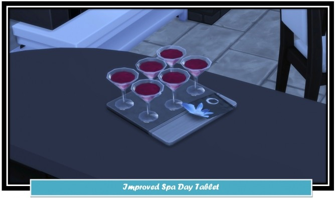 Improved Spa Day Tablet by LittleMsSam at Mod The Sims image 898 670x396 Sims 4 Updates