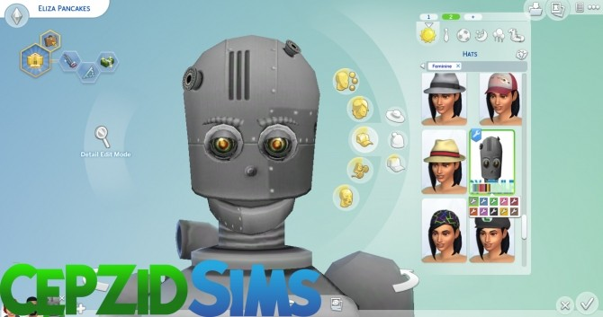 Simbot Costume Conversion by cepzid at SimsWorkshop image 90 670x353 Sims 4 Updates