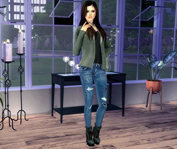 Sims 4 Sara at Oopsie's Sims