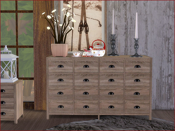 Heidi Bedroom by Pilar at TSR image 910 Sims 4 Updates