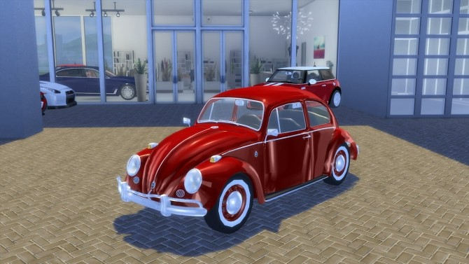 Sims 4 Volkswagen Käfer/Beetle 1200 1962 at OceanRAZR