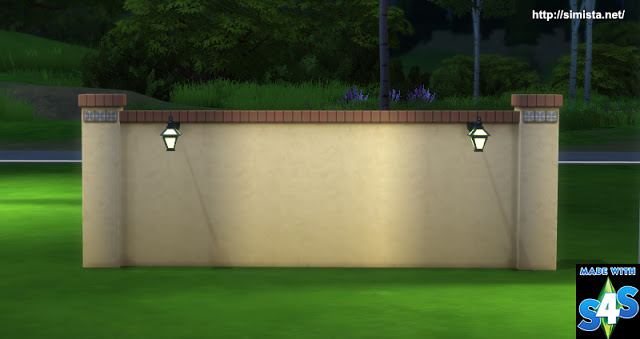 Sims 4 Fence and Column Lights at Simista