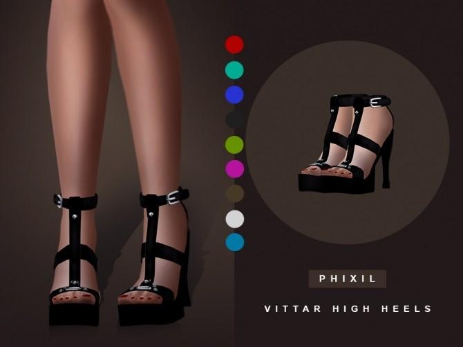Vittar high heels at Phixil Sims image 9122 670x503 Sims 4 Updates