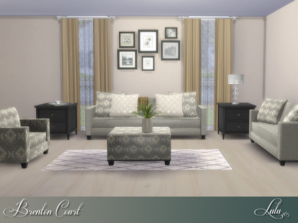 Brenton Court Living by Lulu265 at TSR image 919 Sims 4 Updates