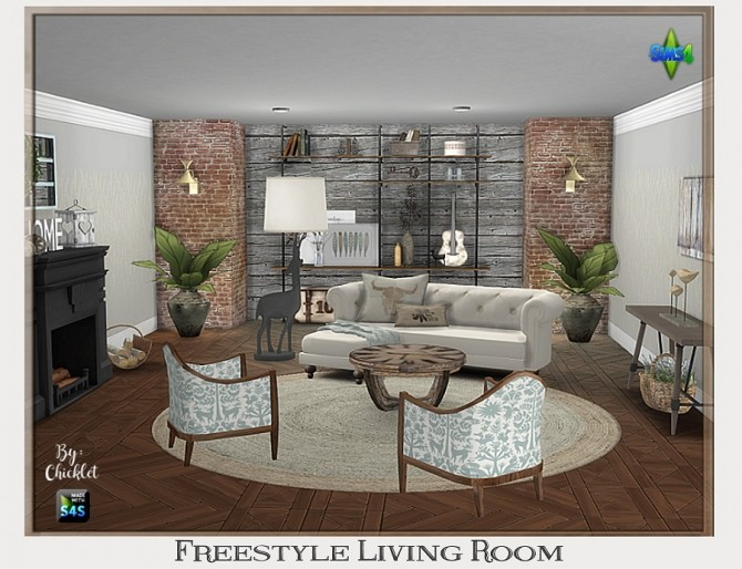 Freestyle Living Room at Chicklet's Nest image 9212 670x514 Sims 4 Updates