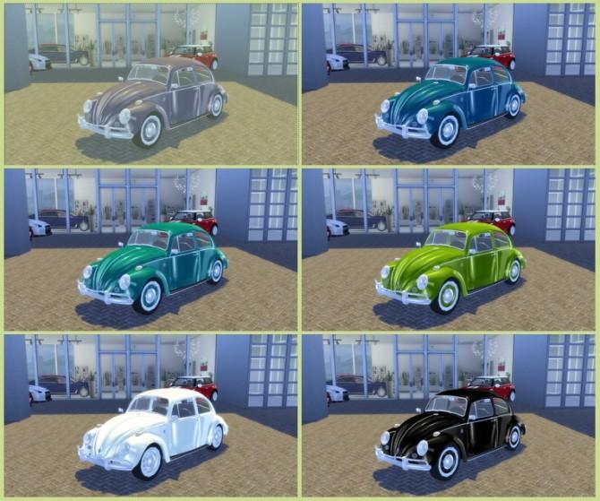 Volkswagen Käfer/Beetle 1200 1962 at OceanRAZR image 941 670x559 Sims 4 Updates