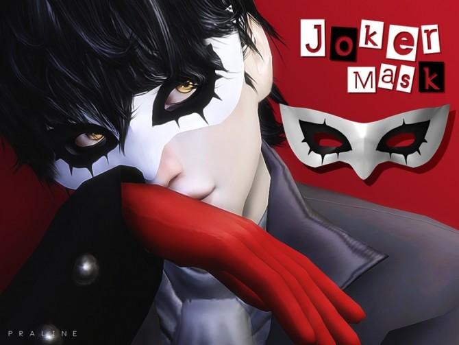Joker Mask by Pralinesims at TSR image 9414 670x503 Sims 4 Updates