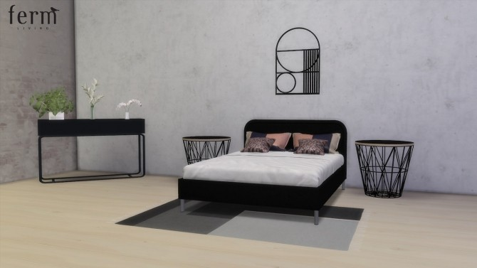 Ferm Living Bedroom Collection (Pay) at Meinkatz Creations image 944 670x377 Sims 4 Updates
