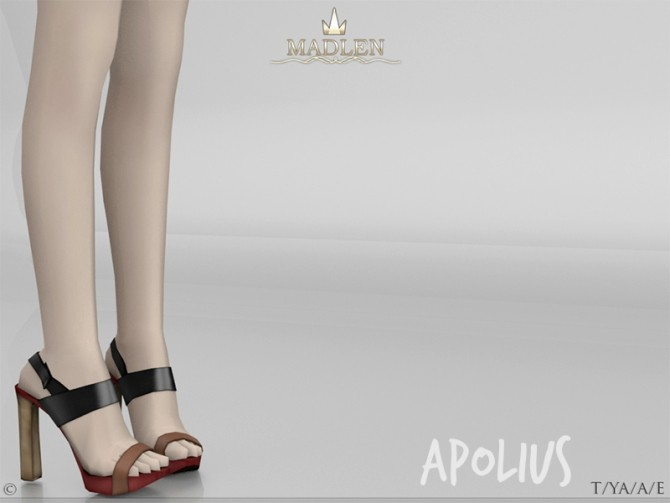 Sims 4 Madlen Apolius Shoes at TSR