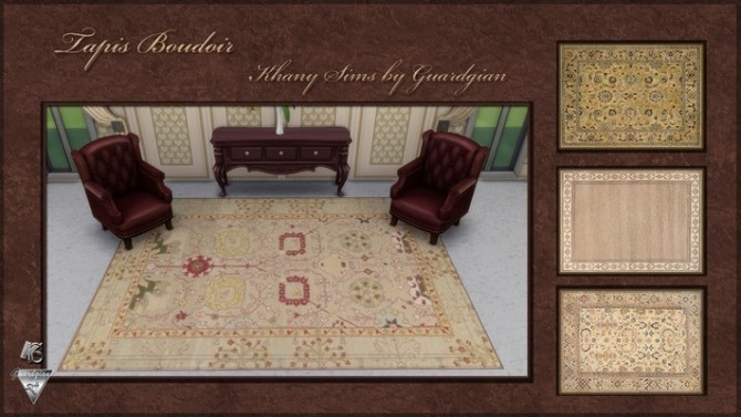 BOUDOIR rugs by Guardgian at Khany Sims image 962 670x377 Sims 4 Updates