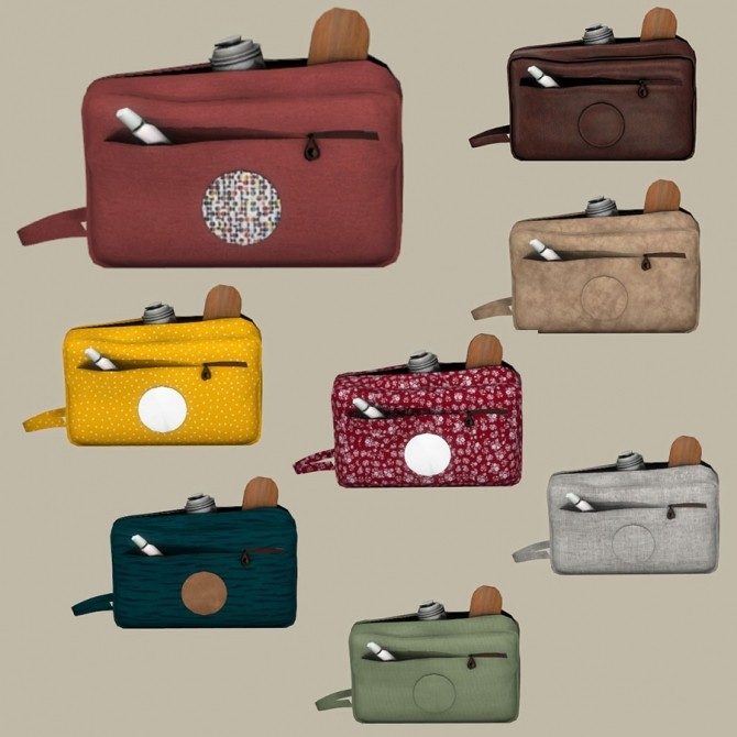 Sims 4 Toiletry Bags at Leo Sims