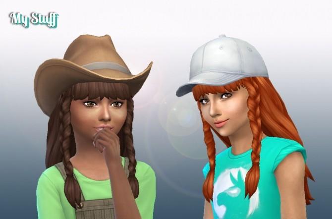 Sims 4 Renewal Braids at My Stuff