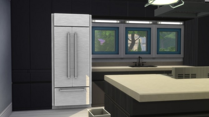 Cold Things Stainless French Door Refrigerator by ladymumm at Mod The Sims image 9814 670x377 Sims 4 Updates
