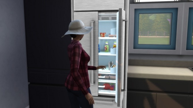 Cold Things Stainless French Door Refrigerator by ladymumm at Mod The Sims image 9915 670x377 Sims 4 Updates