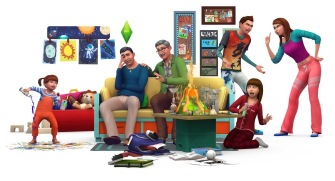 The Sims 4 Expansion & Stuff Packs list image Sims 4 Parenthood big Sims 4 Updates