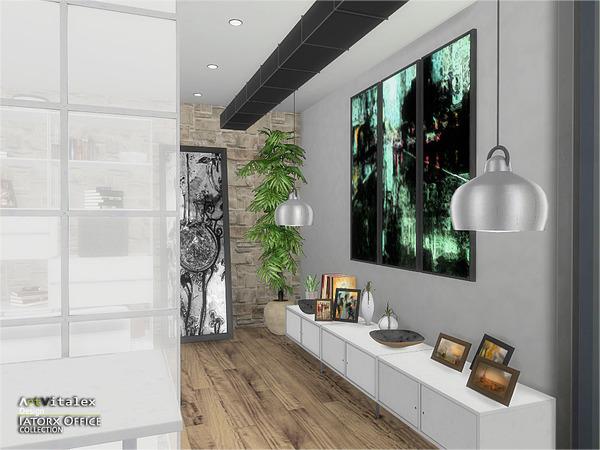 Sims 4 Iatorx Office by ArtVitalex at TSR