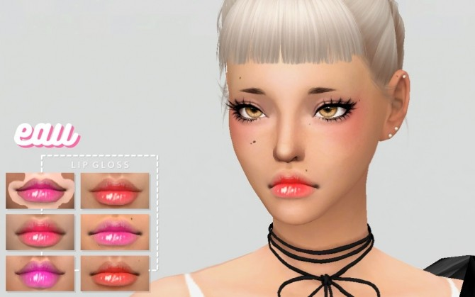 Eau Lips by catsblob at SimsWorkshop image 1006 670x419 Sims 4 Updates