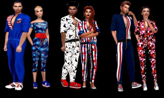 Sims 4 Jump A New set at Dreaming 4 Sims