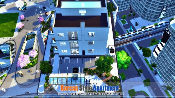 Korean Style Apartment at Homeless Sims image 1023 670x376 Sims 4 Updates