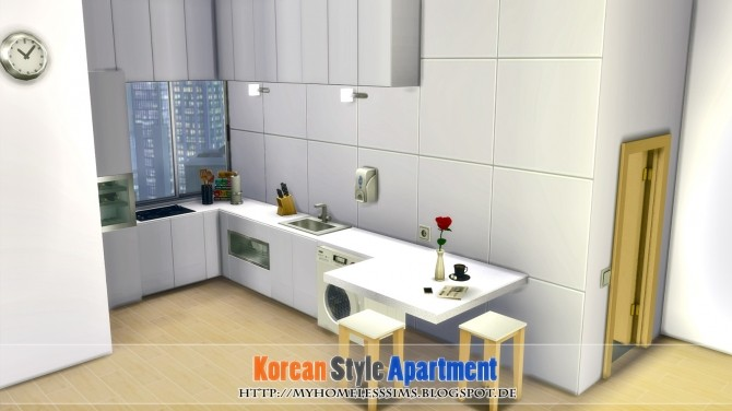Korean Style Apartment at Homeless Sims image 1042 670x376 Sims 4 Updates