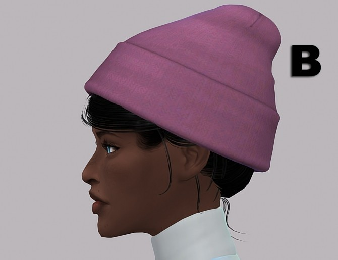 Sims 4 Younzoey Beanie Recolors at Maimouth Sims4