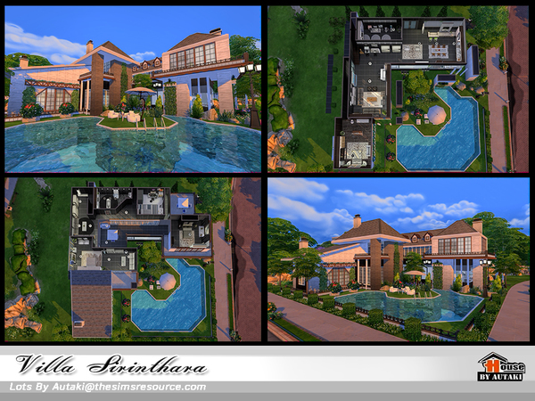 Villa Sirinthara by autaki at TSR image 1050 Sims 4 Updates