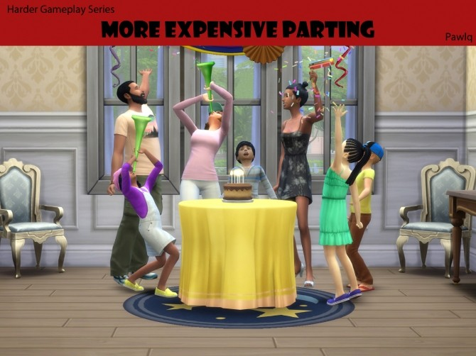Sims 4 HGS More expensive partying by Pawlq at Mod The Sims