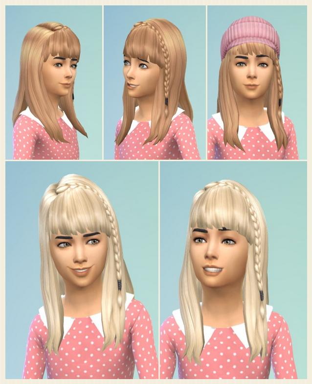 Sims 4 Mami's Braid Hair at Birksches Sims Blog