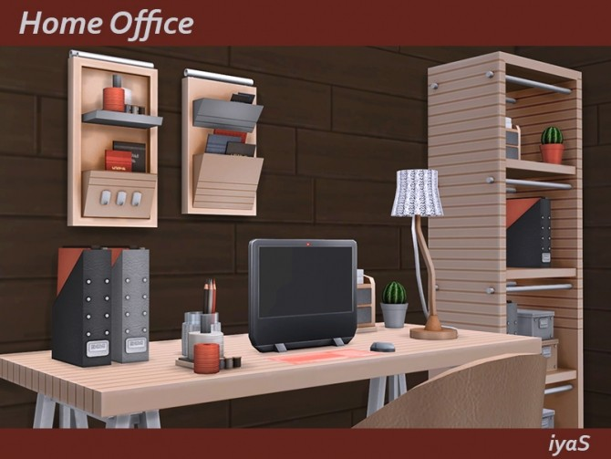Home Office at Soloriya image 1055 670x503 Sims 4 Updates