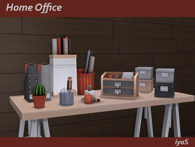 Home Office at Soloriya image 1065 670x503 Sims 4 Updates