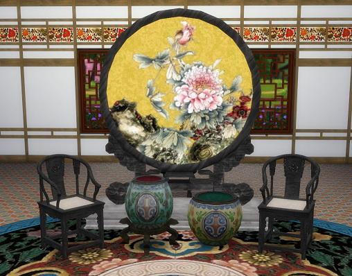 Titan Quest Jade Palace Vases by BigUglyHag at SimsWorkshop image 1071 Sims 4 Updates