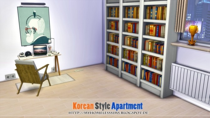 Korean Style Apartment at Homeless Sims image 1073 670x376 Sims 4 Updates