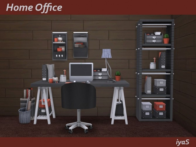 Home Office at Soloriya image 1075 670x503 Sims 4 Updates