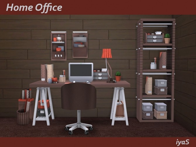 Home Office at Soloriya image 1085 670x503 Sims 4 Updates