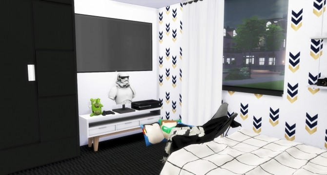 chairs for bedroom boy 180 s bedroom at sims 187 sims 4 updates 11011